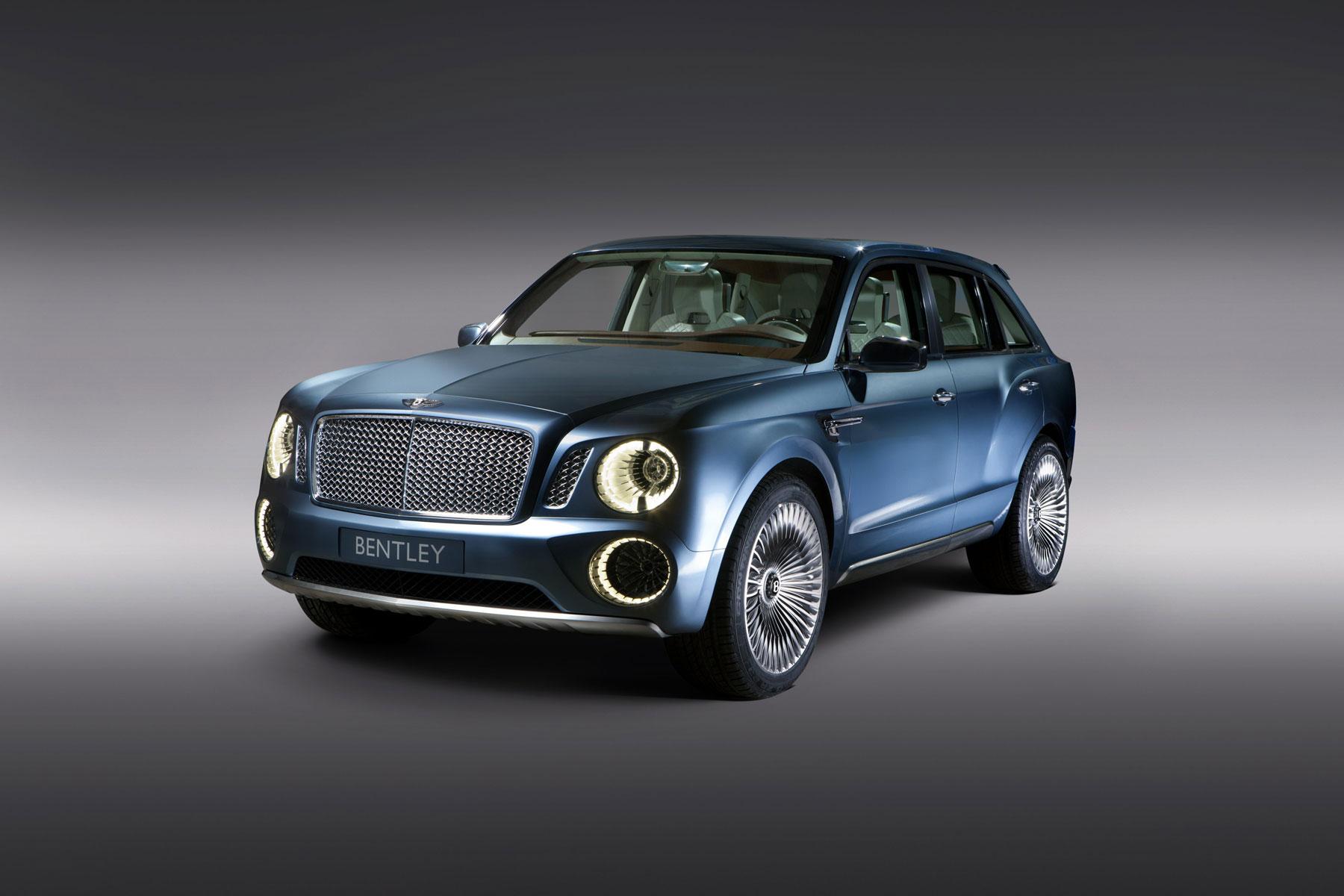 Bentley Reveals Powertrain Details For Exp 9 F Luxury Suv