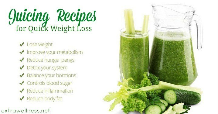 The Ultimate Juicing Recipes For Quick Weight Loss