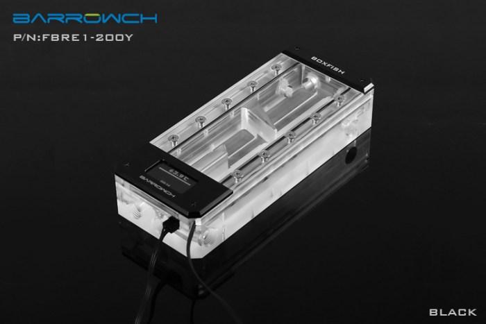 Barrowch boxfish series acrylic square wisdom digital reservoir Classic Black