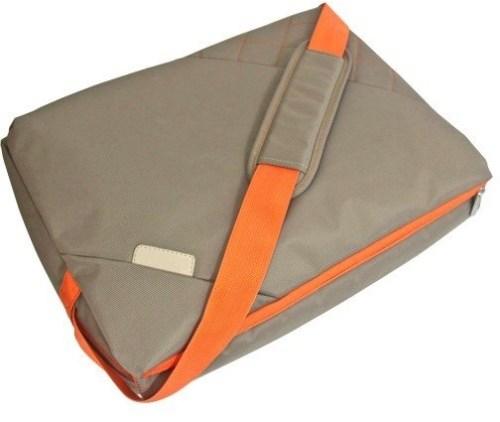 Platinet sülearvutikott 15,6″ Messenger Collection, beež/oranž (41730)