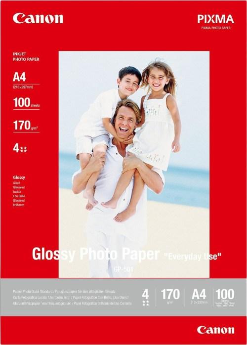 Canon fotopaber GP-501 A4 210g 100 lehte, läikiv