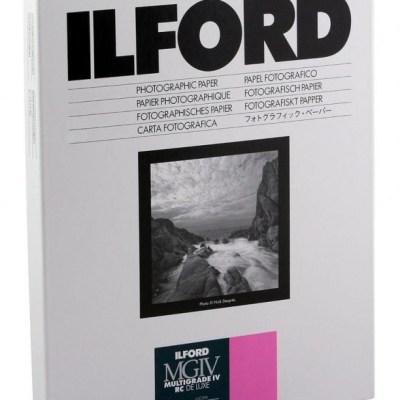 Ilford paber 30,5×40,6cm MGIV 1M läikiv 50 lehte (1770698)