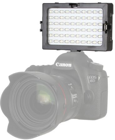 Falcon Eyes videovalgusti LED Set DV60 + aku