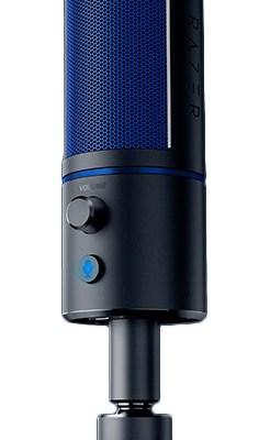 Razer mikrofon Seiren X PS4, must/sinine