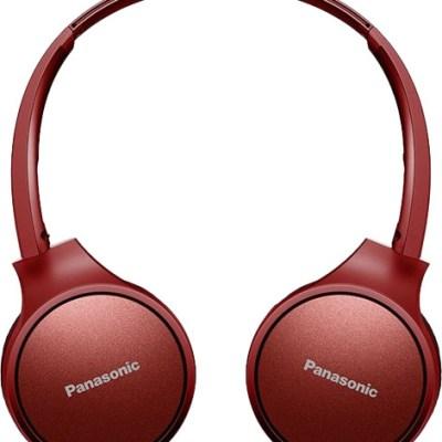 Panasonic juhtmevabad kõrvaklapid + mikrofon RP-HF410BE-R, punane