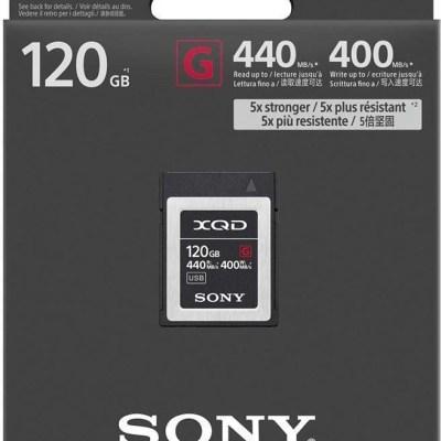 Sony mälukaart XQD G 120GB 440/400MB/s
