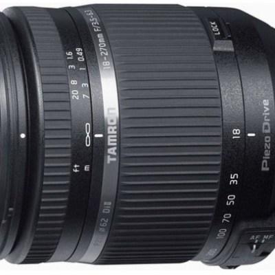 Tamron AF 18-270mm f/3.5-6.3 Di II VC PZD TS objektiiv Nikonile