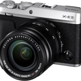 Fujifilm X-E3 + 18-55mm Kit, hõbedane