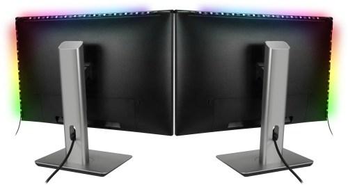 Speedlink LED riba MYX LED Dual Monitor Kit (SL-600608-MTCL)