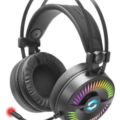 Speedlink kõrvaklapid + mikrofon Quyre RGB 7.1, must (SL-860006-BK)