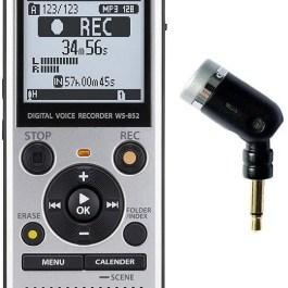 Olympus diktofon WS-852 + ME52 mikrofon, hall
