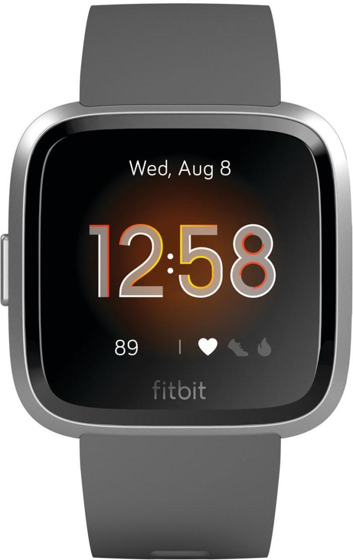 Fitbit Versa Lite S/L, charcoal/silver