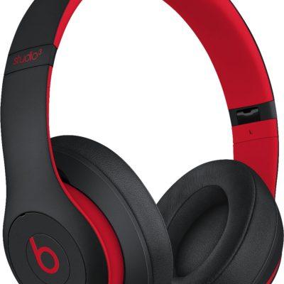 Beats juhtmevabad kõrvaklapid + mikrofon Studio3, defiant black/red