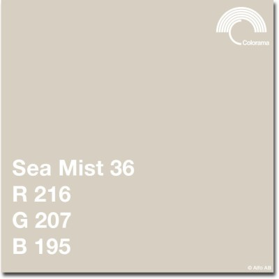 Colorama paberfoon 1,35x11m, sea mist (0536)