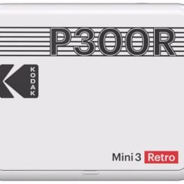 Kodak fotoprinter Mini 3 Plus Retro, valge