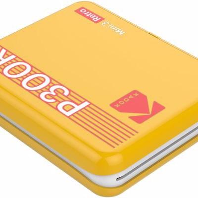 Kodak fotoprinter Mini 3 Plus Retro, kollane