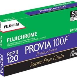 Fujichrome film Provia 100F-120×5