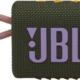 JBL juhtmevaba kõlar Go 3 BT, roheline