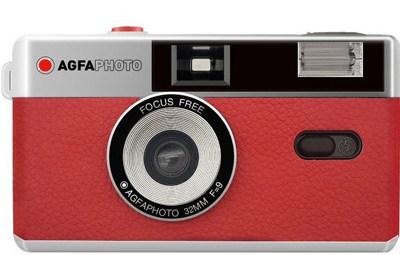 Agfaphoto filmikaamera 35mm, punane