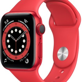 Apple Watch 6 GPS + Cellular 40mm Sport Band (PRODUCT)RED (M06R3EL/A)