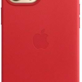 Apple kaitseümbris iPhone 12/12 Pro MagSafe, punane