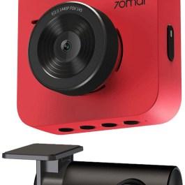 70mai autokaamera A400 + tagurduskaamera RC09, punane