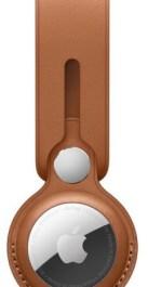 Apple AirTag ümbris Leather Loop, saddle brown