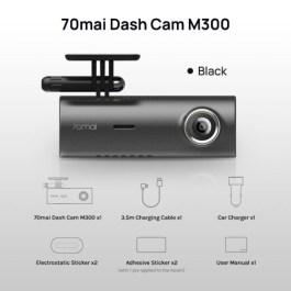70mai autokaamera M300, hall