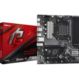 Mainboard|ASROCK|AMD B550|SAM4|MicroATX|1xPCI-Express 3.0 1x|1xPCI-Express 3.0 4x|2xM.2|1xPCI-Express 4.0 16x|Memory DDR4|Memory slots 4|1xHDMI|1xDisplayPort|2xAudio-In|1xAudio-Out|2xUSB 2.0|4xUSB 3.2|1xPS/2|1xRJ45|B550MPHANTOMGAMING4
