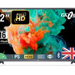 TV Set GAZER 32″ Smart/FHD 1920×1080 Wireless LAN Bluetooth Android Graphite TV32-FS2G