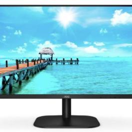 LCD Monitor AOC 24B2XH/EU 23.8″ Business Panel IPS 1920×1080 16:9 75Hz 4 ms Tilt Colour Black 24B2XH/EU