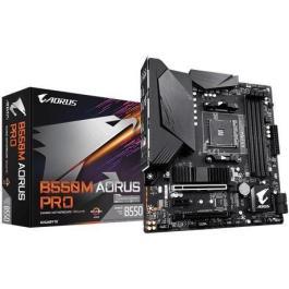 Mainboard|GIGABYTE|AMD B550|SAM4|MicroATX|1xPCI-Express 3.0 1x|1xPCI-Express 3.0 4x|1xPCI-Express 3.0 16x|2xM.2|Memory DDR4|Memory slots 4|1xHDMI|1xDisplayPort|2xAudio-In|3xAudio-Out|4xUSB 2.0|1xUSB type C|5xUSB 3.2|1xOptical S/PDIF|1xRJ45|B550MAORUSPRO-P
