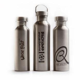 extremnormal® Trinkwasserflaschen Firmenlogo Kooperation Partner