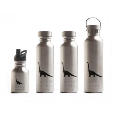 extremnormal® Trinkwasserflaschen Familienpaket #2 Handgraviert