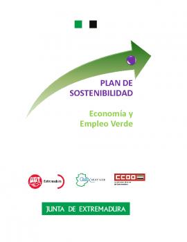 Plan de sostenibilidad economia y empleo verde
