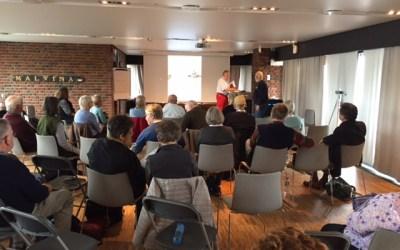 The pleasure of attending informal Antarctic conferences