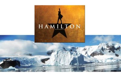 """Was Amundsen like Alexander Hamilton? """"Young,scrappy and hungry. And not throwing away his shot"""""""