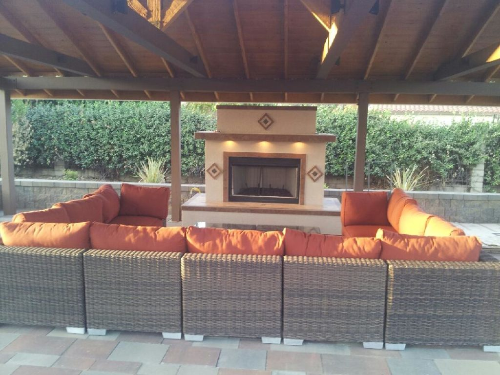 Fireplace Tile Designs Custom Fireplaces - Extreme Backyard Designs