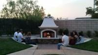 Custom Fireplaces - Extreme Backyard Designs