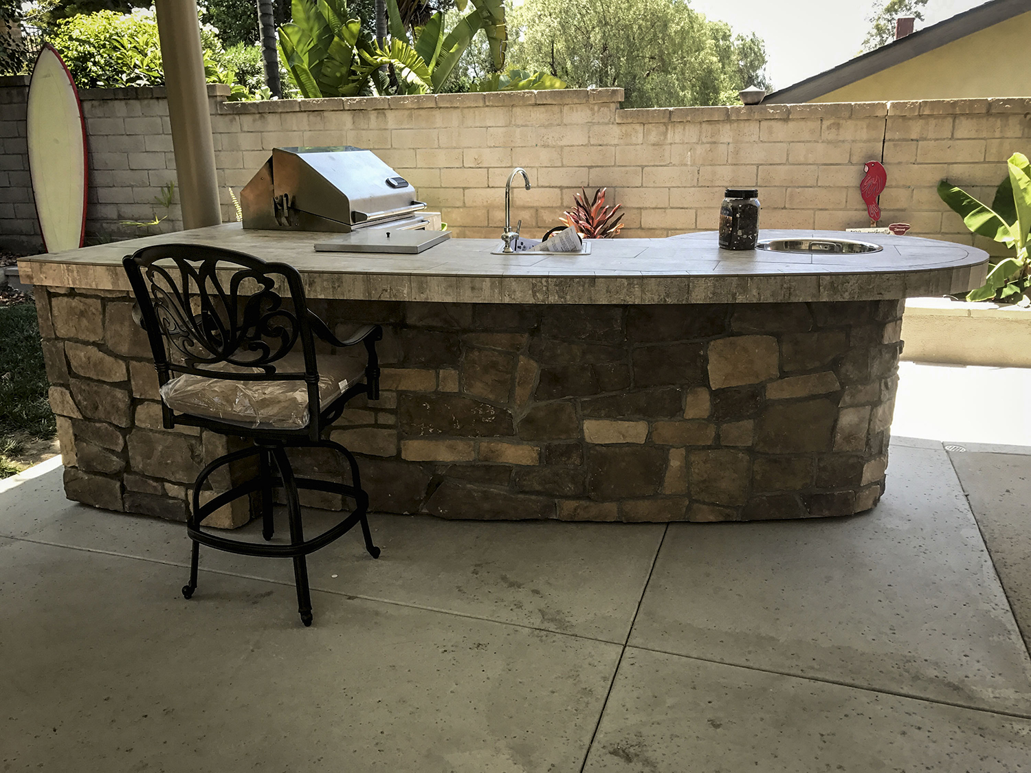 custom outdoor kitchens kitchen faucet with sprayer rock extreme backyard designs