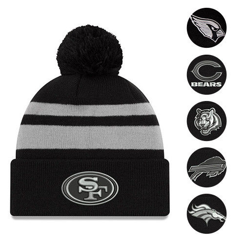 1199 Was 2299 NFL Cuffed Hat With Pom Extreme