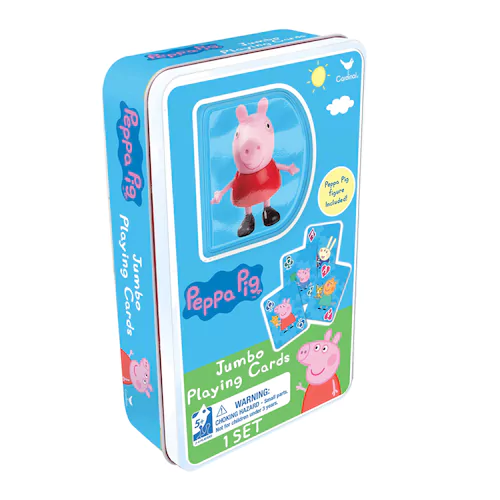359 Was 999 Peppa Pig Jumbo Playing Cards And Figure