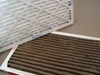 How often do I need to change the air filter on my Heating