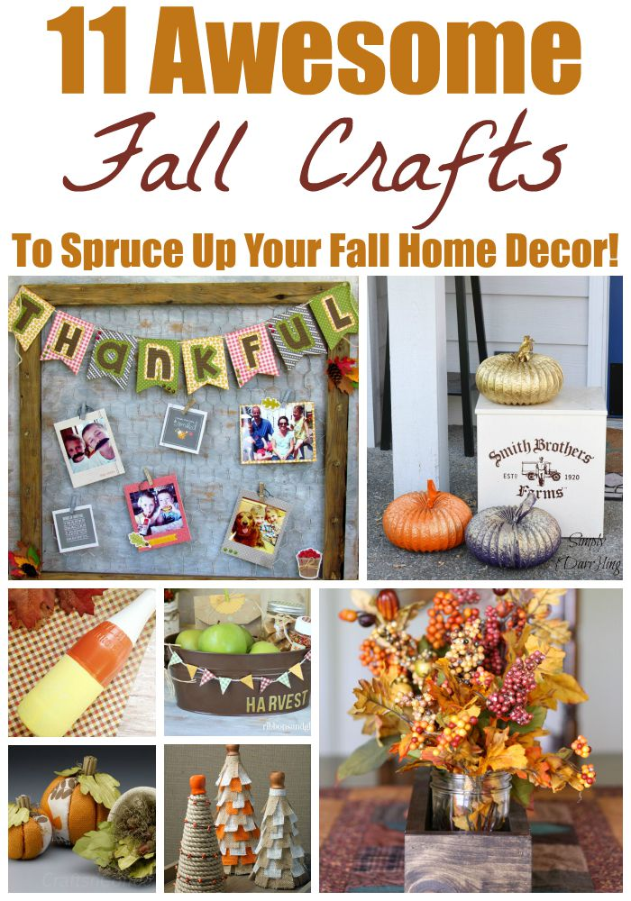 11 Awesome Men S Casual Street Style Fashion: 11 Awesome Fall Crafts To Spruce Up Your Fall Home Decor