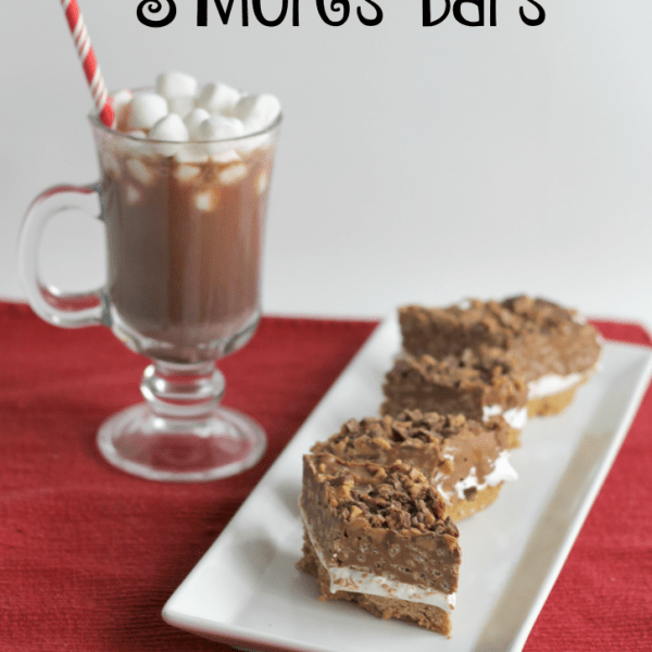 Peanut Butter Toffee S'Mores Bars Recipe