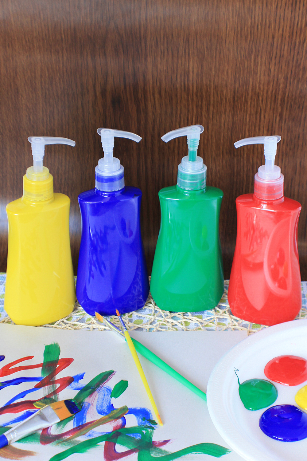 Hand Soap Container Paint Storage Mom Hack