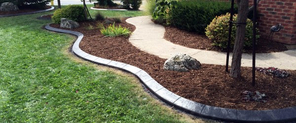 concrete curbing landscaping