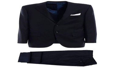 Mens Suits, Blue Kiton Luxury Suit, Suit