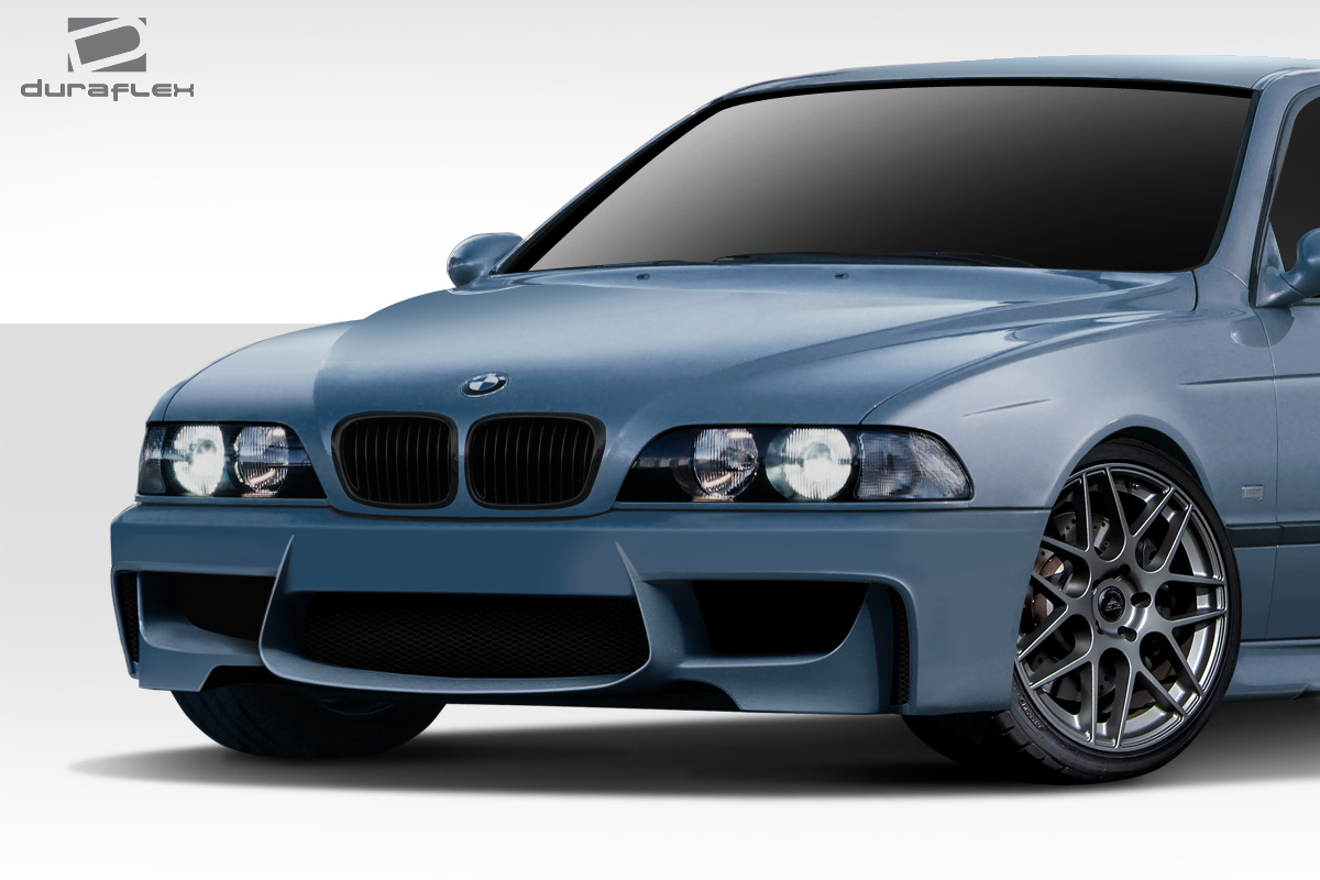 9703 Bmw 5 Series 1m Look Duraflex Front Body Kit Bumper