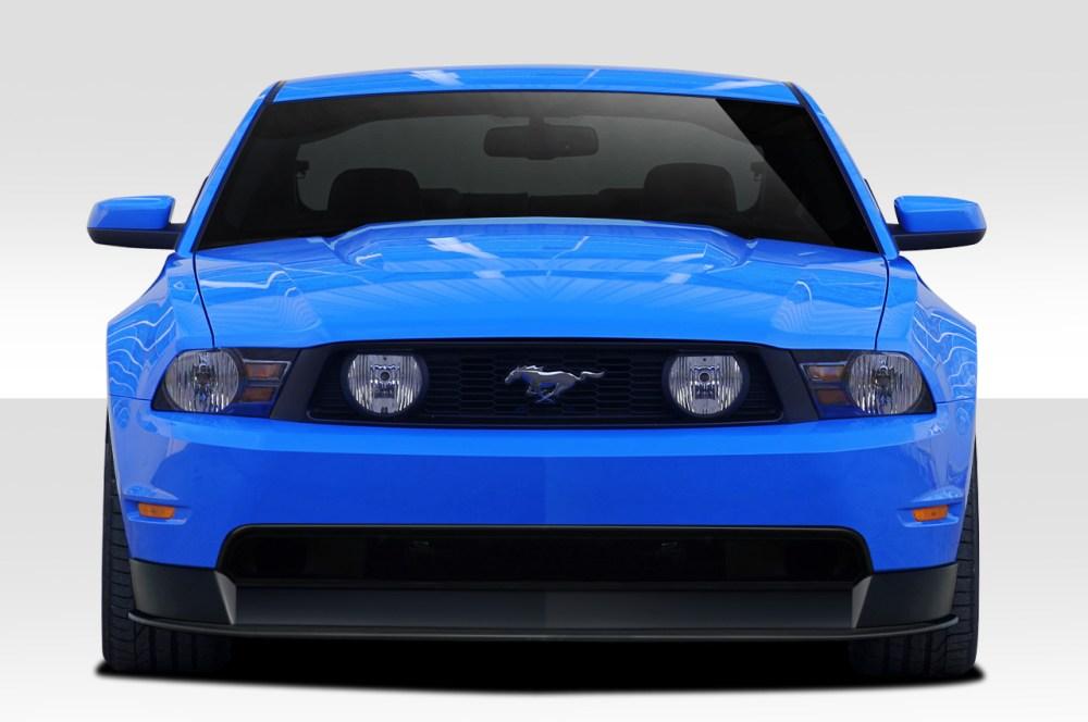 medium resolution of image is loading 10 12 ford mustang r500 duraflex front bumper